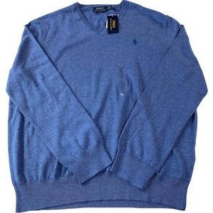 Polo by Ralph Lauren Mens XL Pima Cotton Sweater
